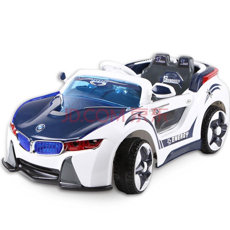 四轮可坐遥控车儿童电动车
