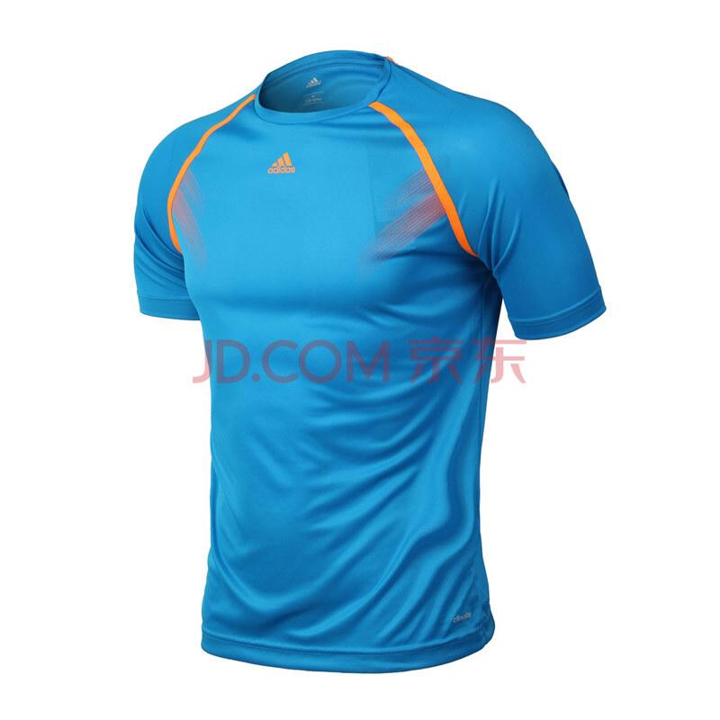 阿迪达斯adidas新款生活足球服男装桑巴速干专业服短袖t恤f82026 太阳