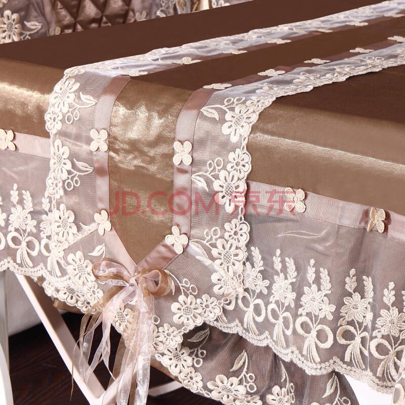 傲居家纺餐桌布台布茶几布 单品桌旗30*220cm 60*60cm需定做