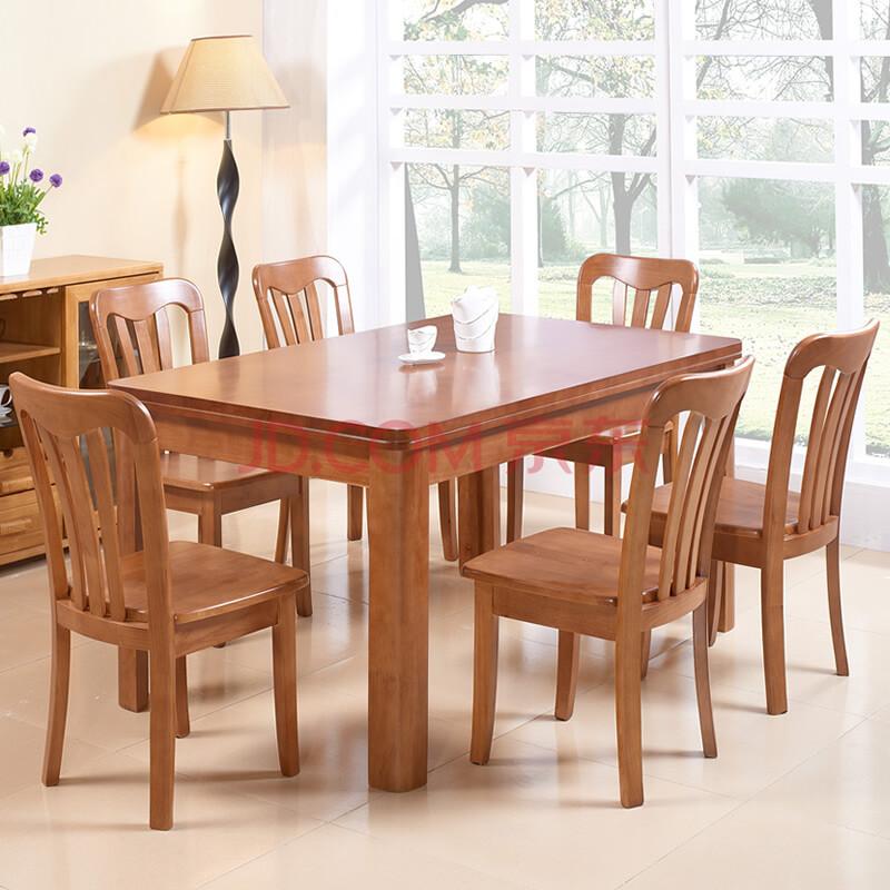 南巢 纯实木餐桌 方桌 餐桌椅组合 现代中式 明清古典仿古家具 深茶色