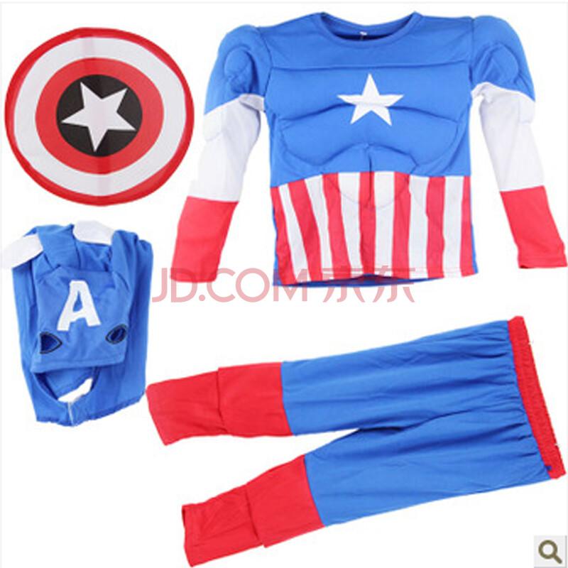 儿童美国队长服装