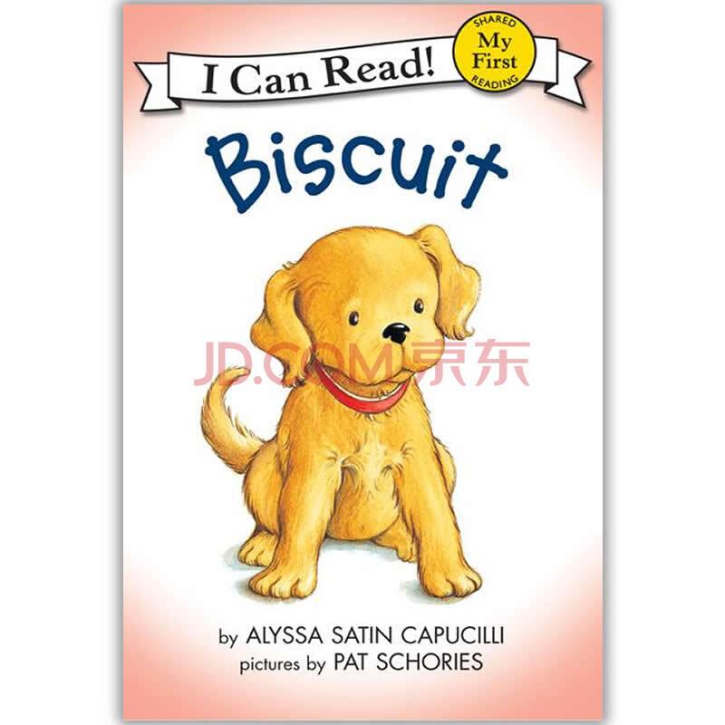 儿童英文绘本icanread预备级biscuit
