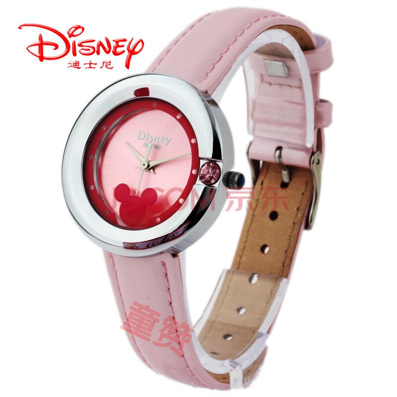 迪士尼disney米奇mickey女表时尚韩国手表女孩中学生手表迪斯尼手表图片