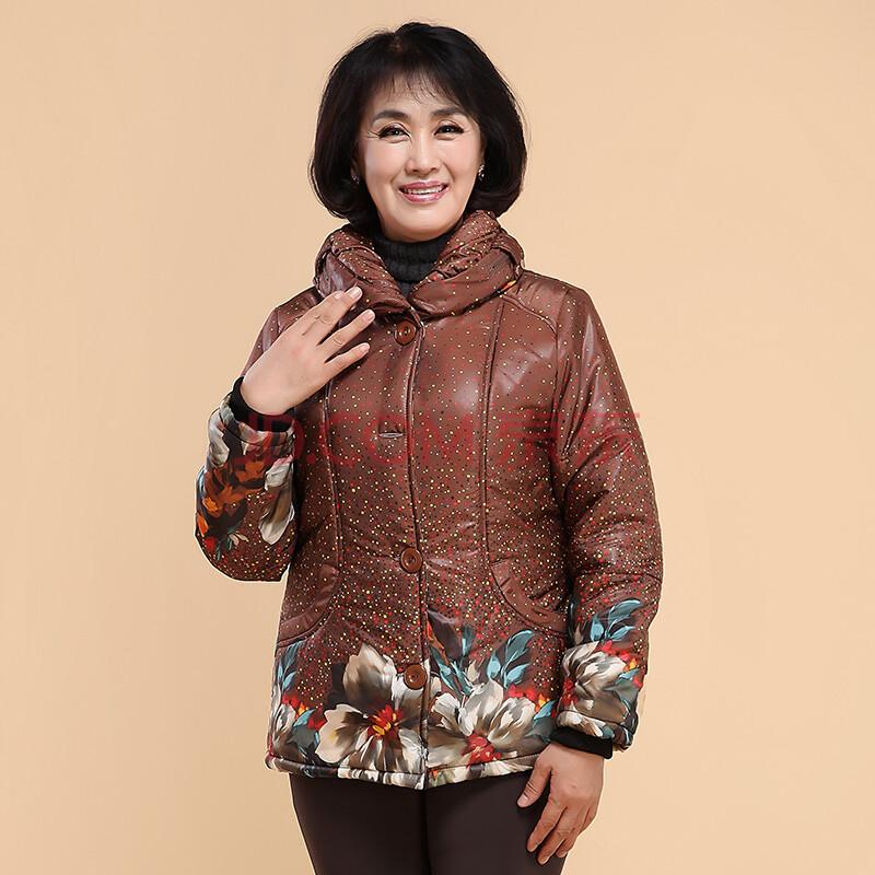 服中老年时尚女装棉衣图片