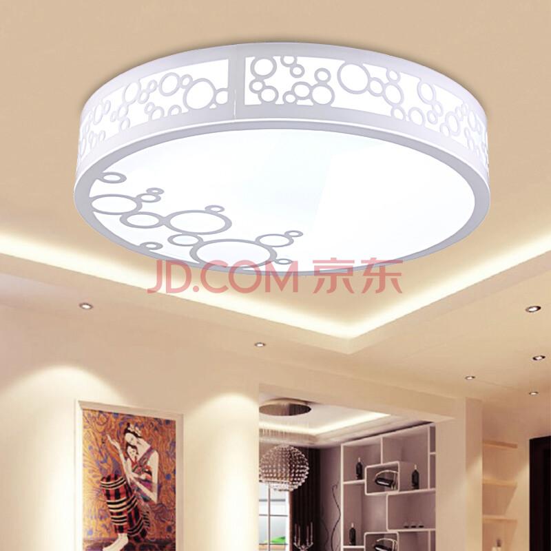 东联正品高档现代简约吸顶灯客厅卧室书房灯具亚克力阳台灯具6085图片