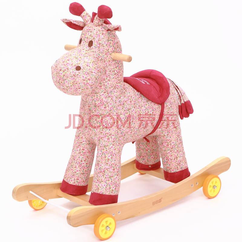 儿童布艺摇马 玩具木马