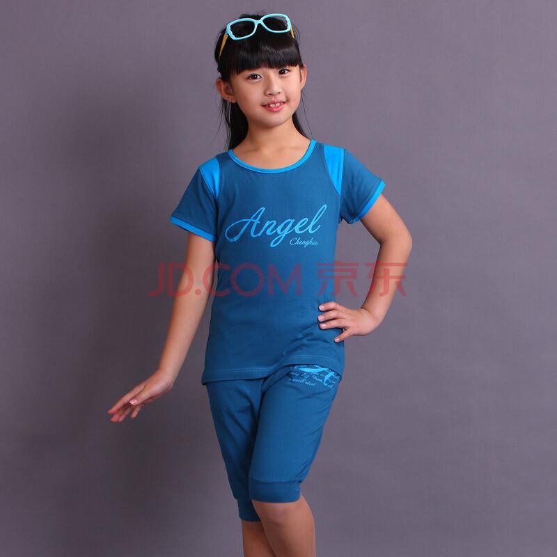 儿童运动服女套装26128