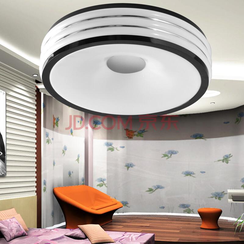 铸光 灯具亚克力时尚led吸顶灯客厅灯卧室灯饰 黑红蓝图片