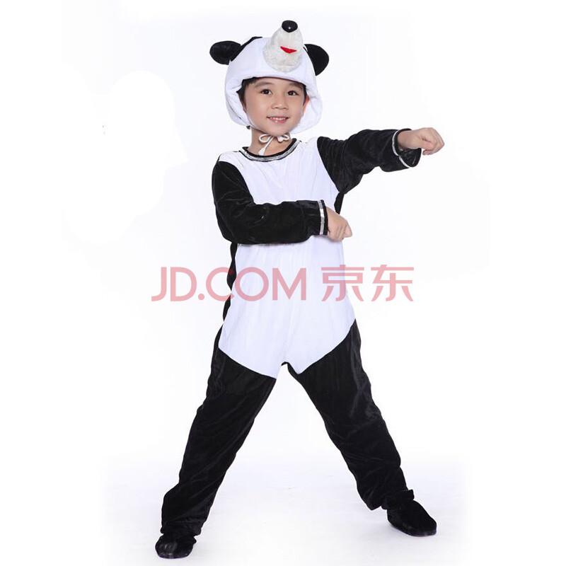 功夫熊猫儿童动物表演服装/幼儿园舞台演出