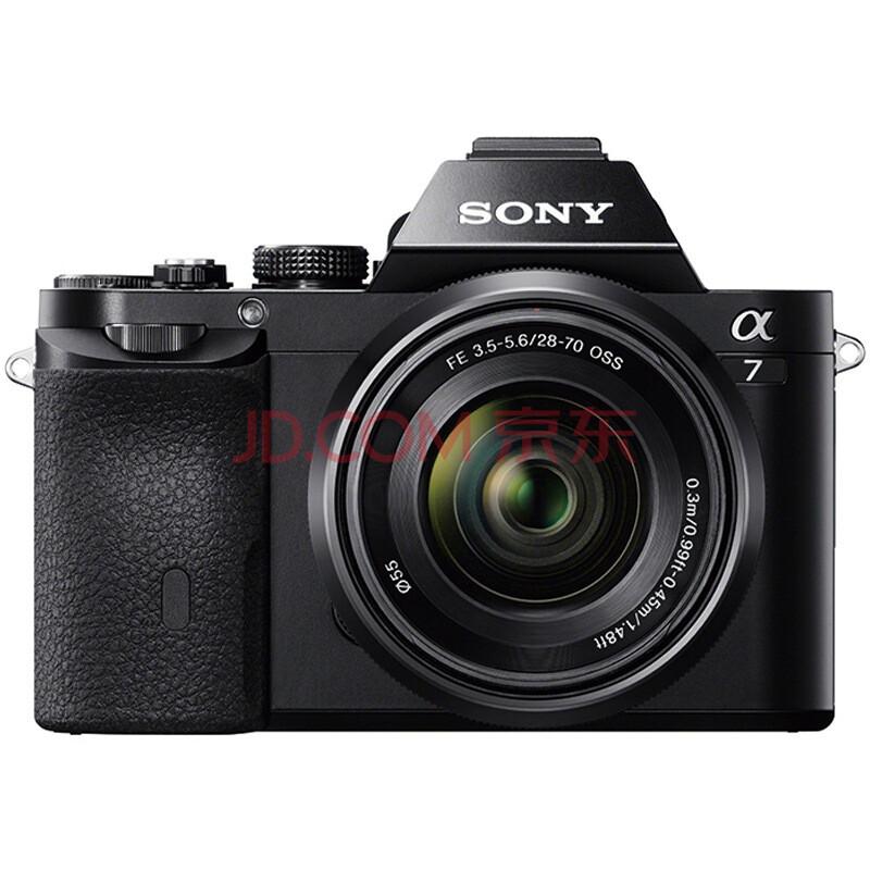 索尼(SONY)ILCE-7K 全画幅微单套机(28-70mm镜头 a7K/α7K)