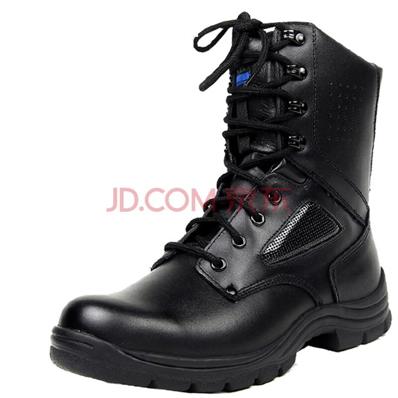 3515强人 军靴 男 特种兵 男款高帮系带牛皮战斗靴子 真皮皮靴 马丁靴机车靴男靴男式鞋 J129A新 42