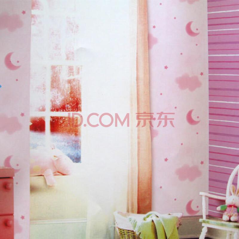 星星月亮墙卧室壁纸