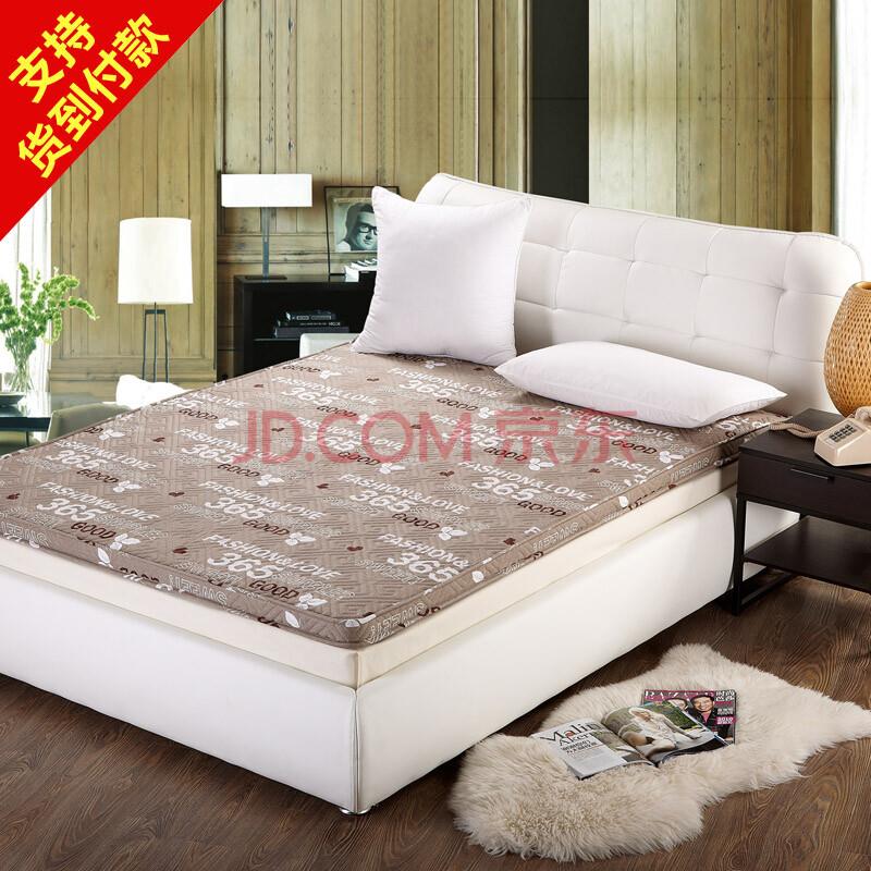 可芮娜家纺 新款立体全棉床垫 舒适加厚加大床垫 货到