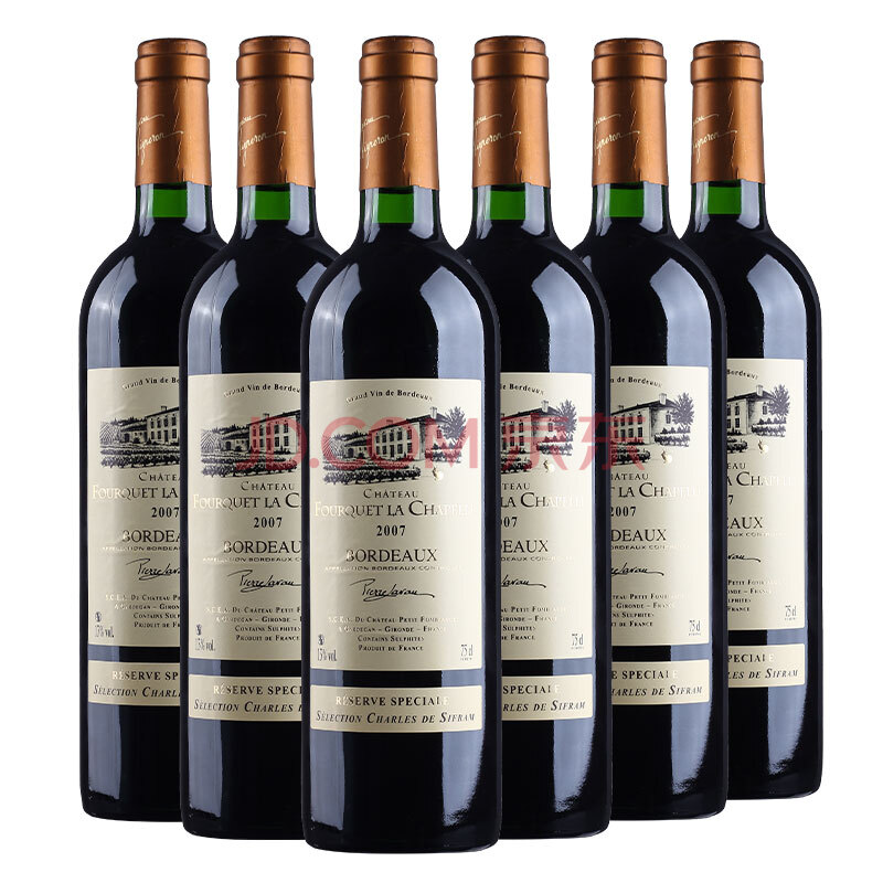 法国波尔多红酒AOC等级 原瓶进口 金兔庄园卡