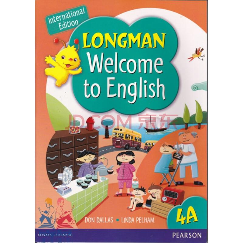 朗文�yan_原版进口 朗文小学英语longman welcome to english 4a 学生用书