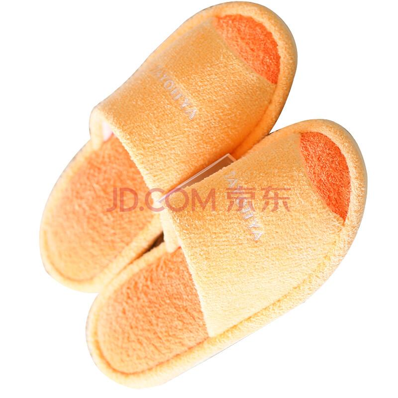 TAYOHYA 多样屋旗舰店 潮色毛巾拖/橙240mm