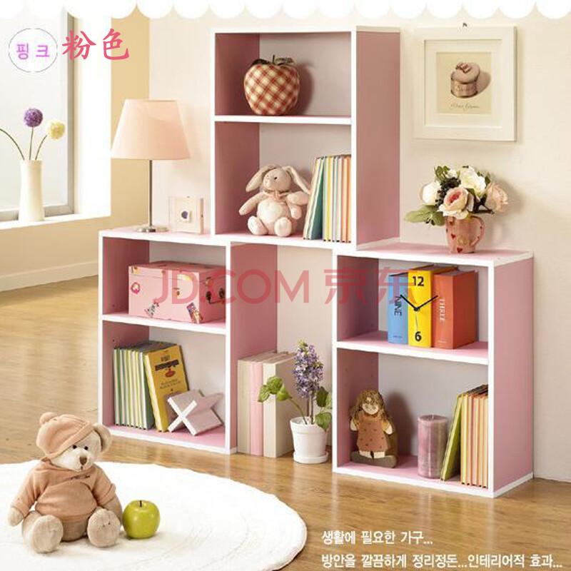 艾业|aiye书柜 包邮儿童房两层书架置物柜 置物架储物