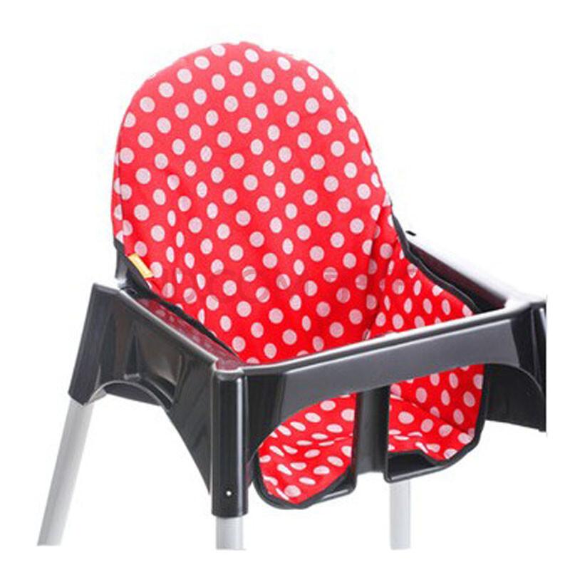 世纪宝贝babyhood组合式儿童餐椅座垫儿童餐椅坐垫 红色点点图片