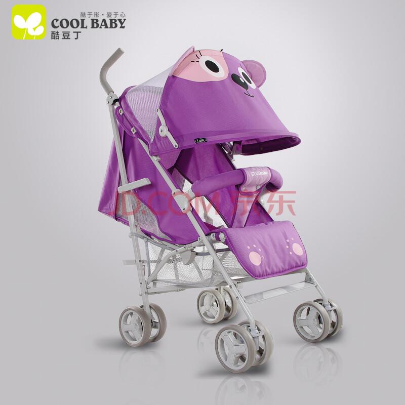 卡通婴儿手推车