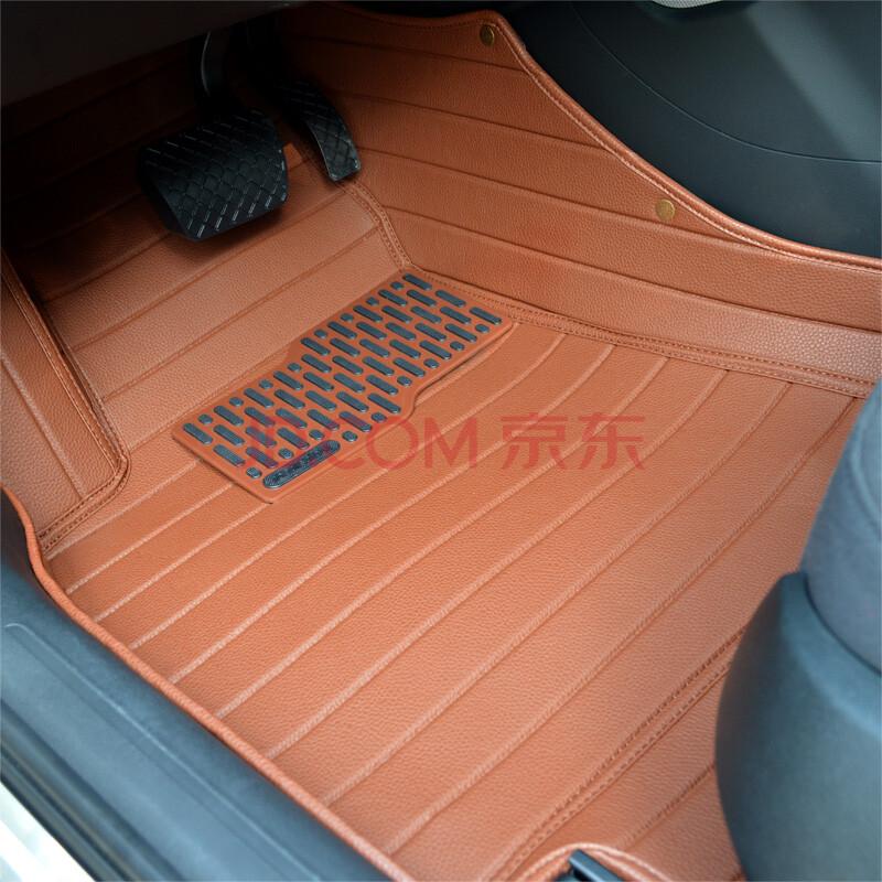 众卡(zoncar)新款大全包围汽车脚垫 专车专用 高档皮革 防水耐磨