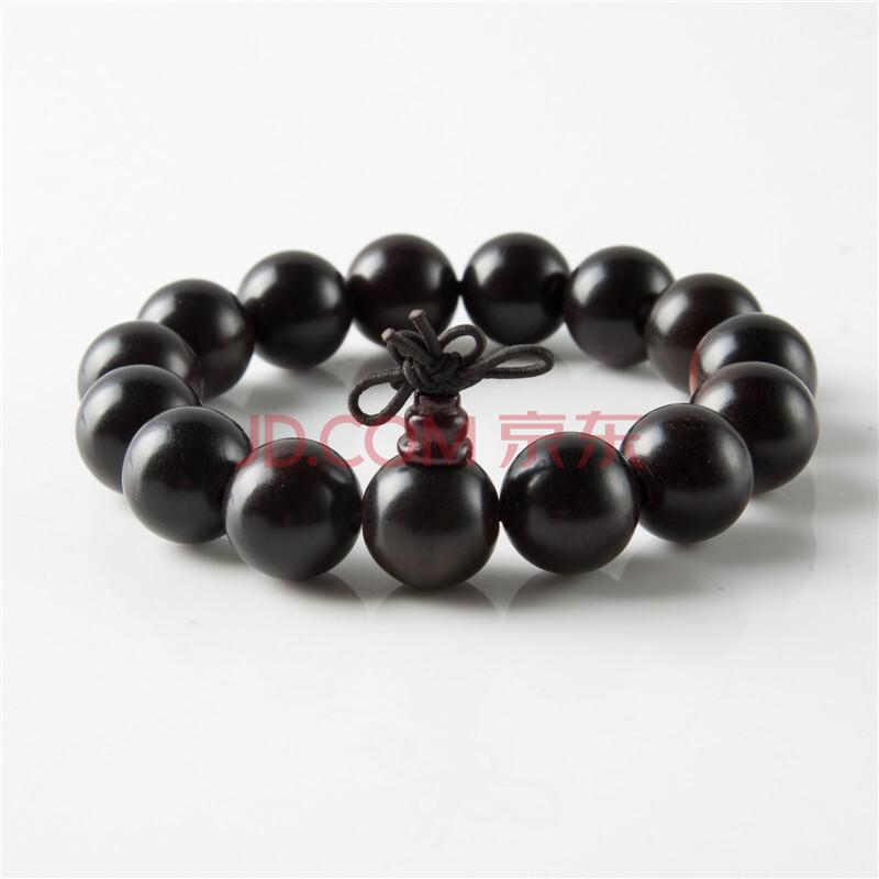 石中宝 黑檀木佛珠手链珠子直径10-14cm 618夏装特惠
