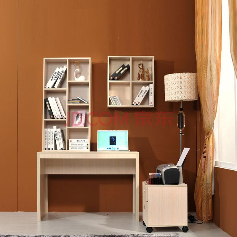 瑞信家具 简易电脑台书桌 家用写字台 台式电脑桌书柜