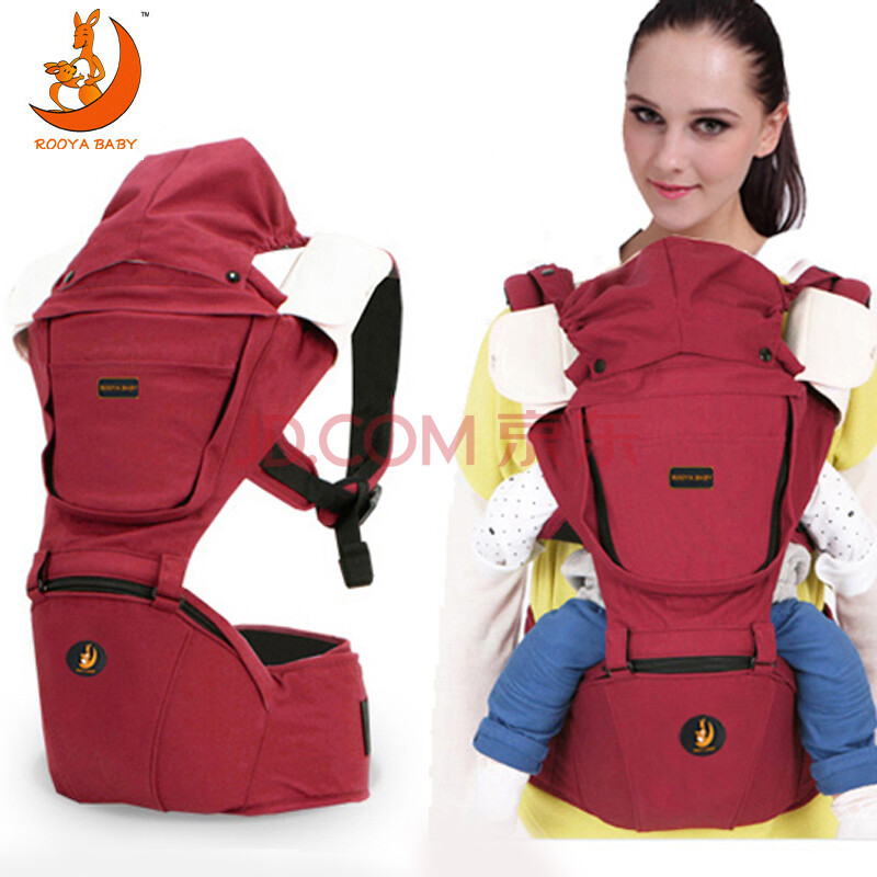 ROOA BABY豪华型四季款婴儿背带双肩抱婴腰凳多功能套装AB8903
