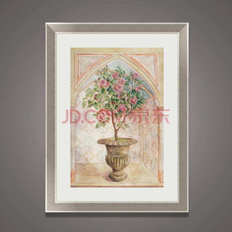 客厅装饰画挂画餐厅卧室画欧式花卉