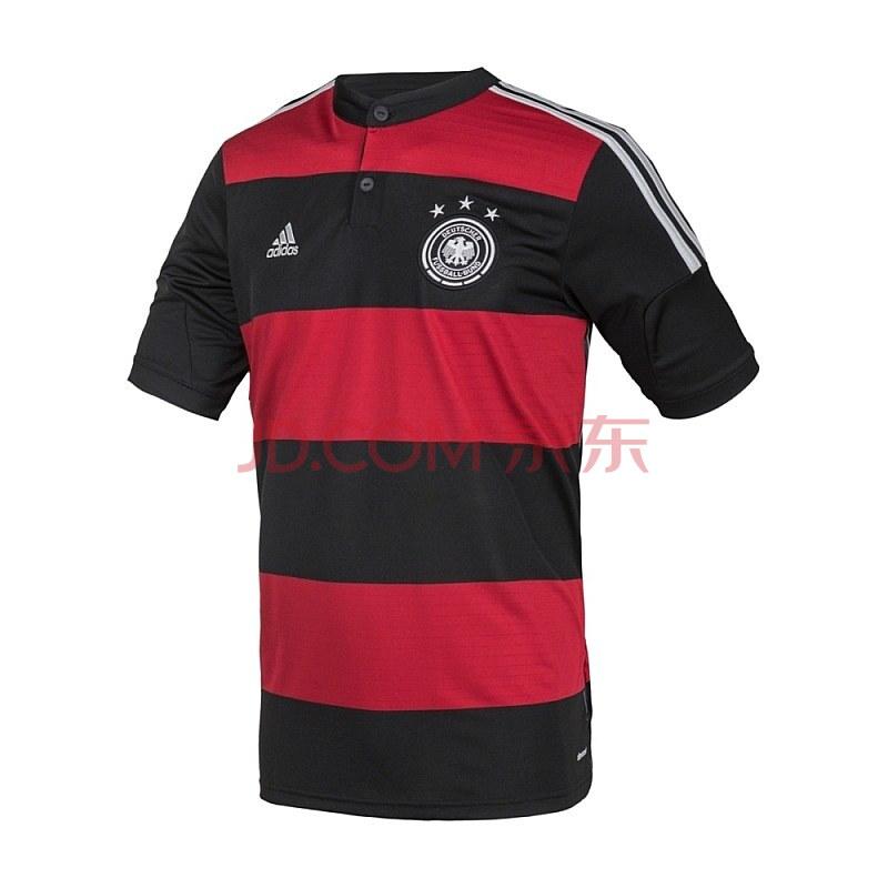 adidas 阿迪达斯 足球 男子 德国客场比赛服 黑 g74520 如图 m