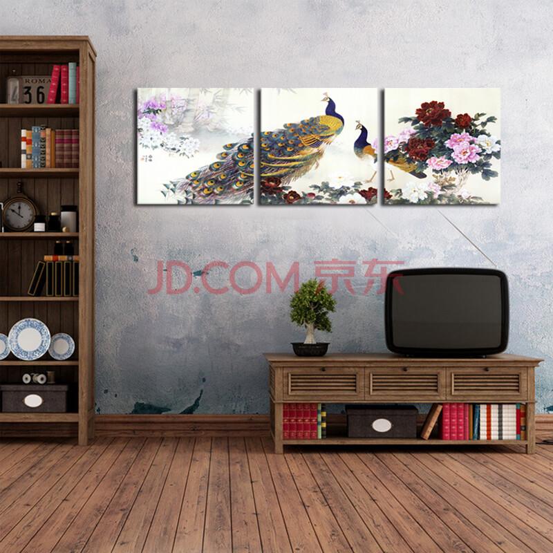 视觉星客厅现代装饰画玄关壁画沙发背景墙画电表箱挂-套画欧式装饰图片