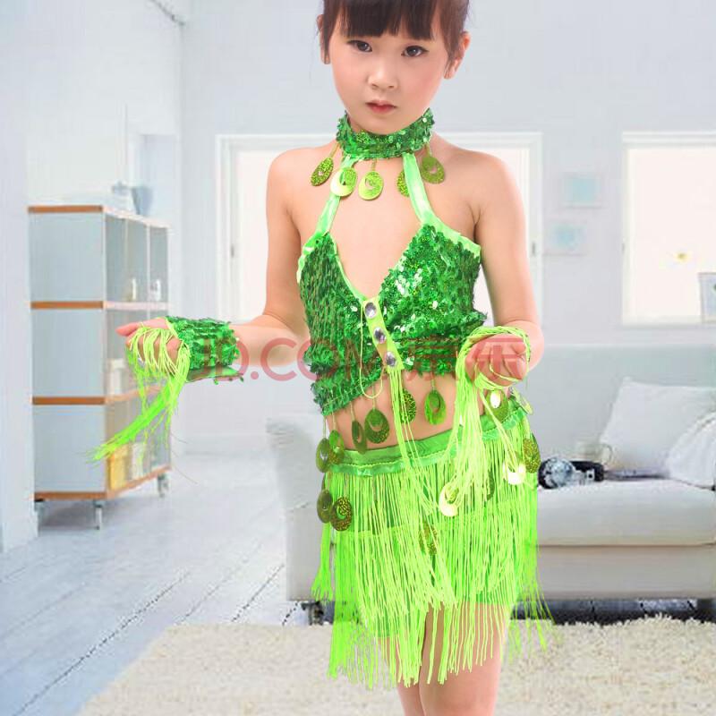 裙线条舞台舞蹈裙女