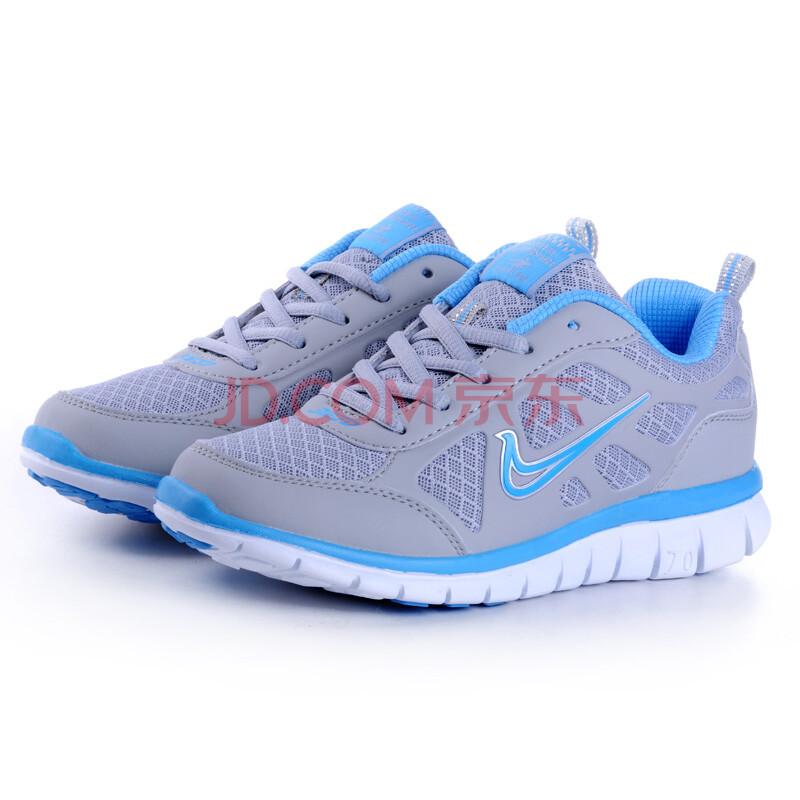 2012夏季网面透气跑步鞋女款内增高