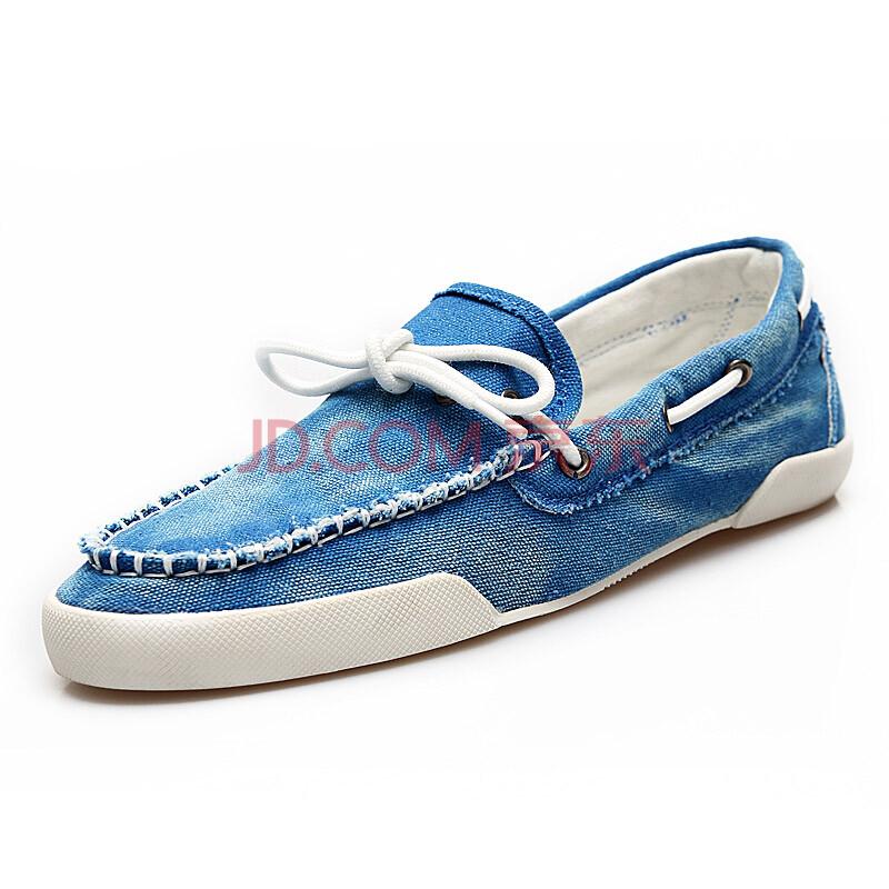韩版时尚男鞋透气布鞋子