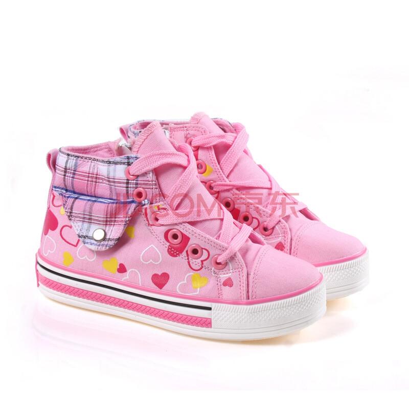 儿童女童帆布鞋