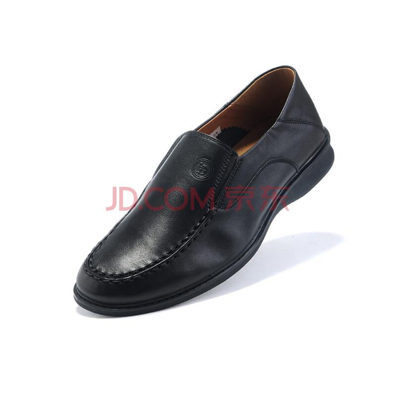 骆驼牌 男鞋 简约套脚