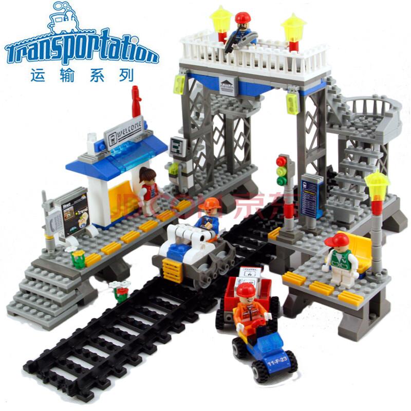 乐高火车玩具图片