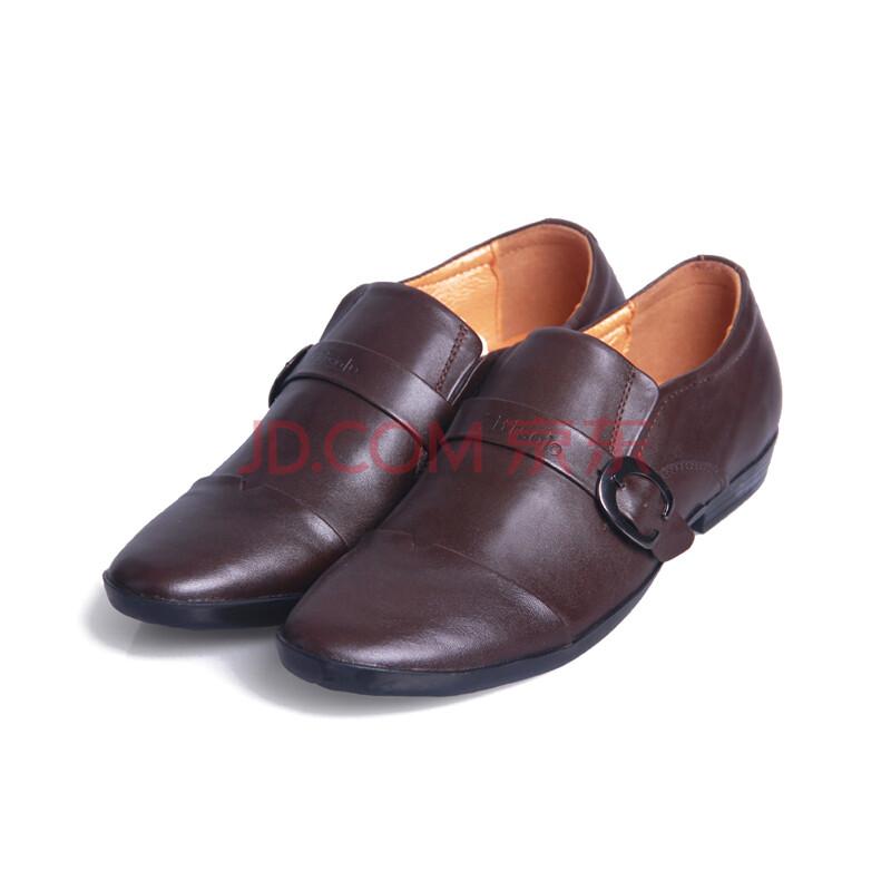 皮鞋日常男士系带鞋