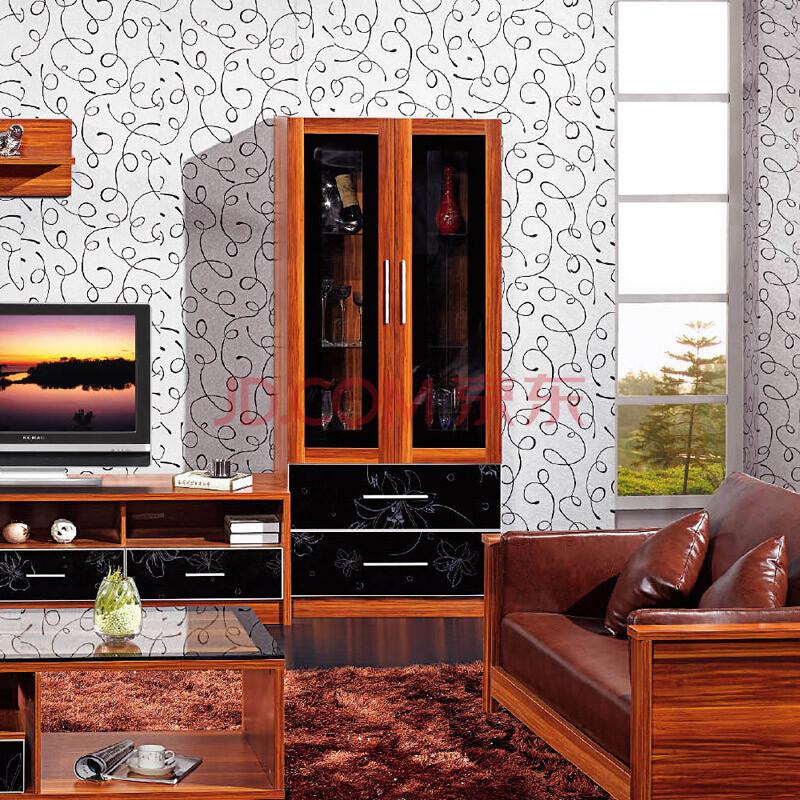 美乐乐家具 帝轩 电视柜 地柜 酒柜 储物柜 柜子 客厅家具套装组合图片