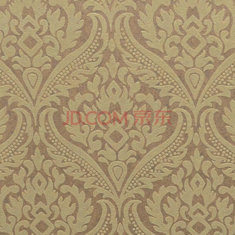 雅阁 新科壁纸 无纺布 客厅 卧室 电视墙 半雕 花纹 欧式复古 防霉
