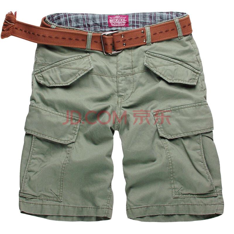 麻吉match 韩版男士短裤