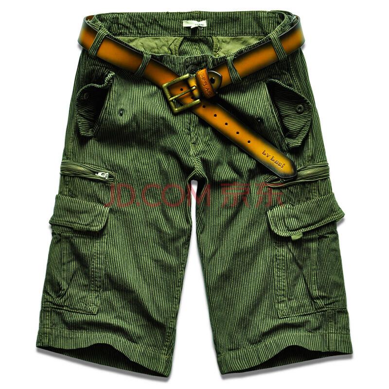 短裤 男式工装沙滩裤