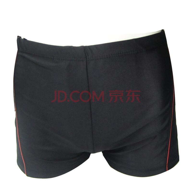 水晶灵男士泳裤-7087 黑图片