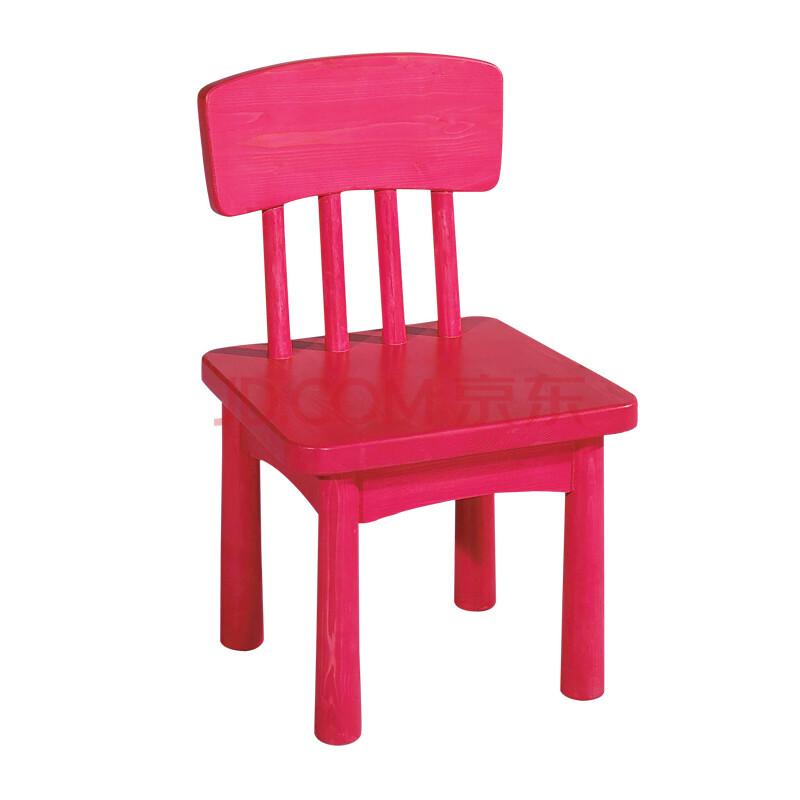 儿童家具 实木休闲靠背椅子