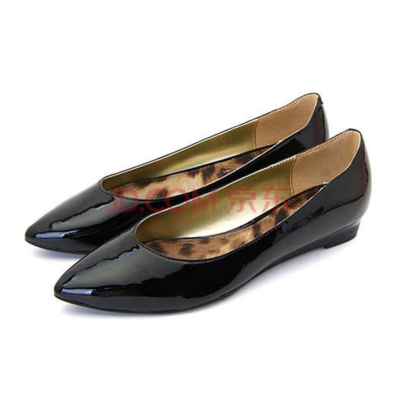 st&sat星期六 纯色平底鞋