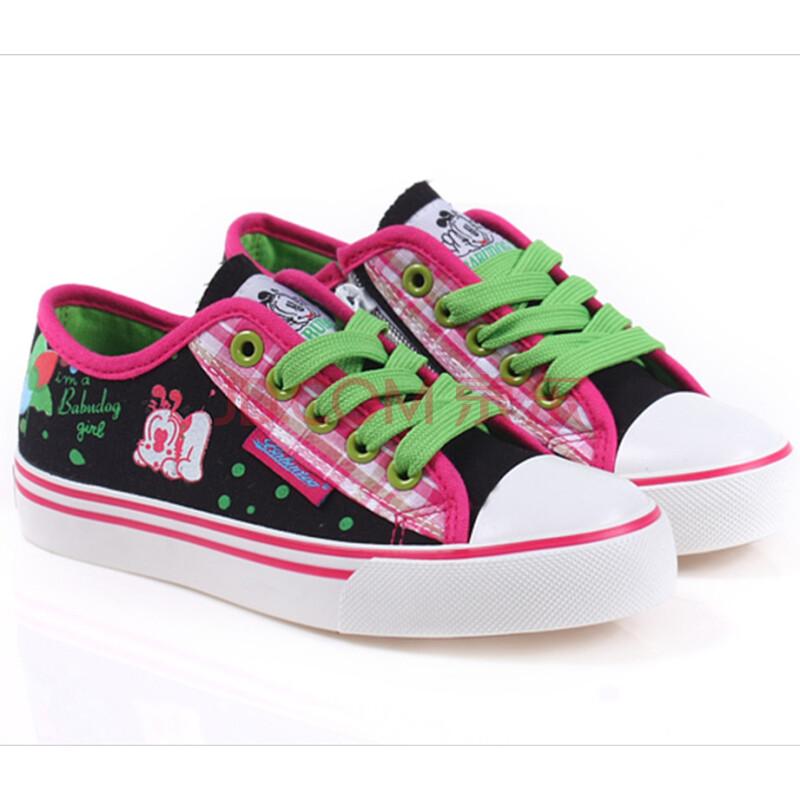 儿童帆布鞋女童