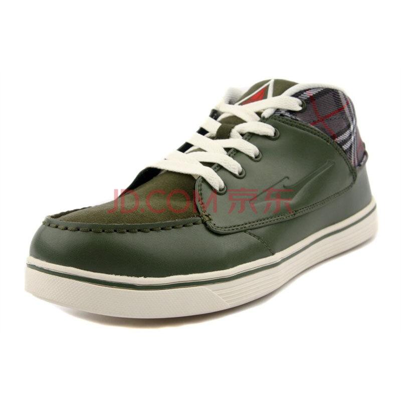 ERKE鸿星尔克 男子滑板鞋 军绿色