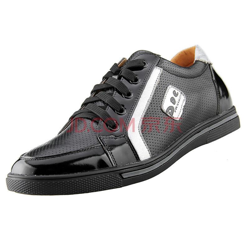高尼男士运动皮鞋 舒适运动内增高鞋