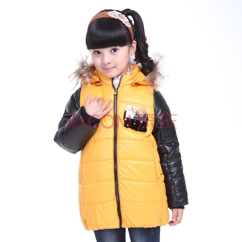 黄色棉衣外套女冬装 森马棉衣外套女冬装