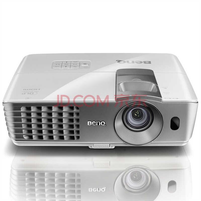明基(BenQ)W1070投影仪 全高清1080P蓝光3D家用投影机 无屏电视