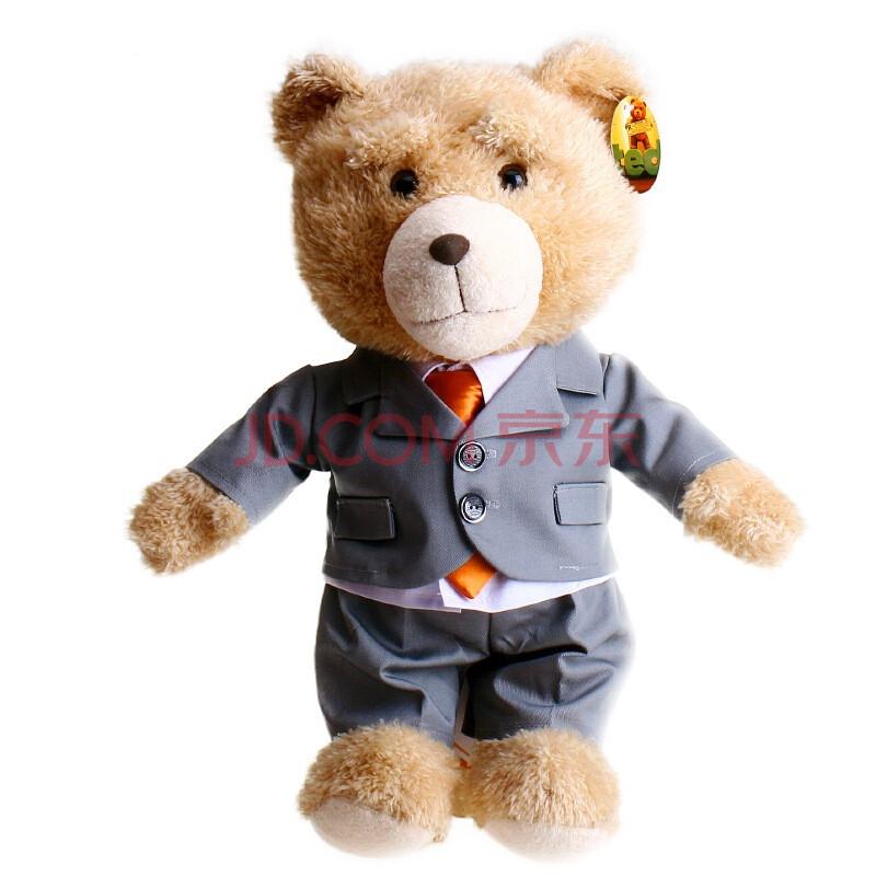 可爱泰迪熊图片_2013新款刺猬趴趴熊可爱刺猬熊穿衣泰迪熊公